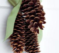 Tolle Winterdeko Ideen mit Tannenzapfen