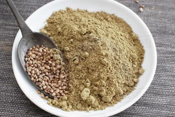 Was ist Hanfmehl Hanfsamenmehl Vorteile Mehlsorten