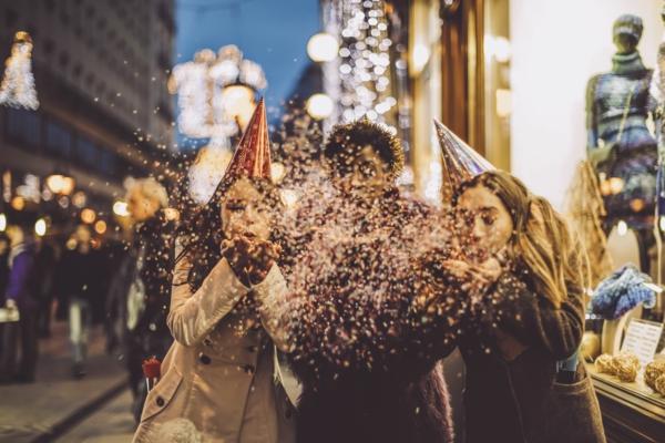 Was kann man an Silvester machen im Freien feiern