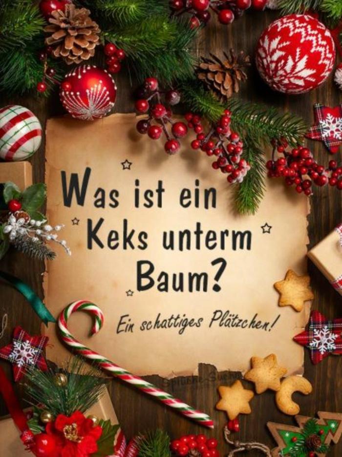 Weihnachstgrüsse und lustige Weihnachtssprüche frage