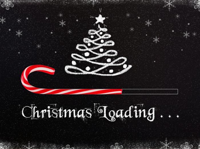Weihnachstgrüsse und lustige Weihnachtssprüche tannenbaum zuckerstangen