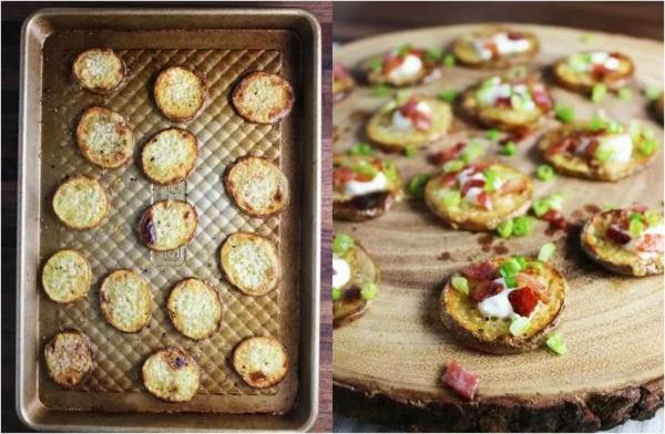 Weihnachtliche Vorspeise zubereiten 10 einfache festliche Fingerfood Ideen Bratkartoffeln