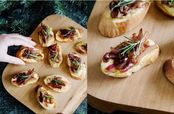 Weihnachtliche Vorspeise zubereiten 10 einfache festliche Fingerfood Ideen Crostini
