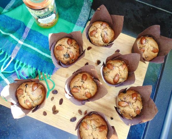 Weihnachtlicher Kuchen aus Schottland – Dundee Kuchen traditionell zubereiten muffins rezept einfach