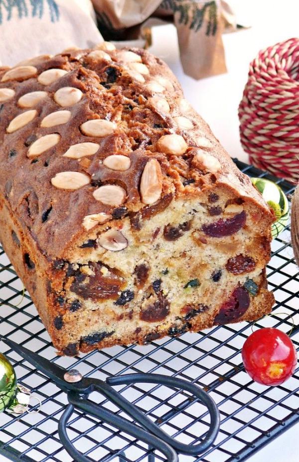 Weihnachtlicher Kuchen aus Schottland – Dundee Kuchen traditionell zubereiten rezept kuchen mandeln früchte