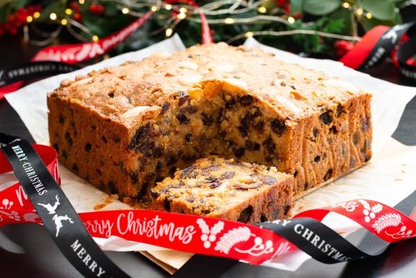 Weihnachtlicher Kuchen aus Schottland – Dundee Kuchen traditionell zubereiten teekuchen früchtekuchen lecker