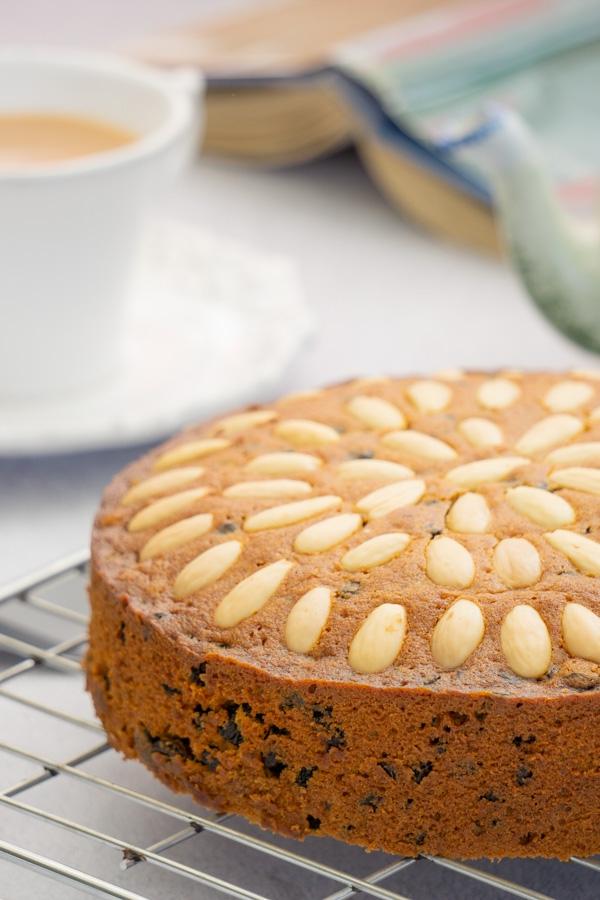 Weihnachtlicher Kuchen aus Schottland – Dundee Kuchen traditionell zubereiten teekuchen großbritannien lecker tradition