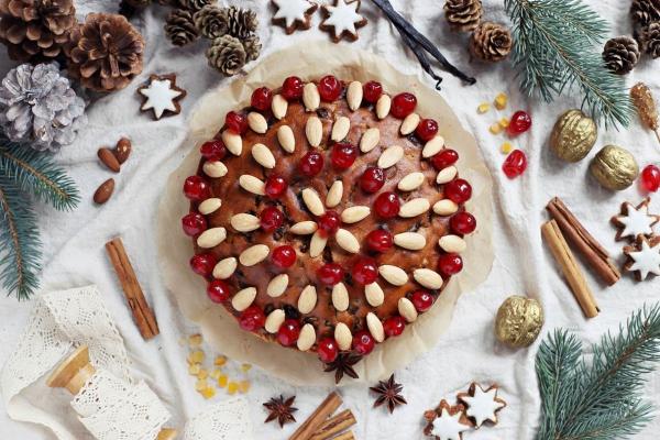 Weihnachtlicher Kuchen aus Schottland – Dundee Kuchen traditionell zubereiten weihnachten rezept schön lecker