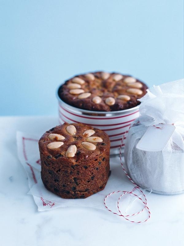 Weihnachtlicher Kuchen aus Schottland – Dundee Kuchen traditionell zubereiten weihnachtskuchen lecker karamell muffin