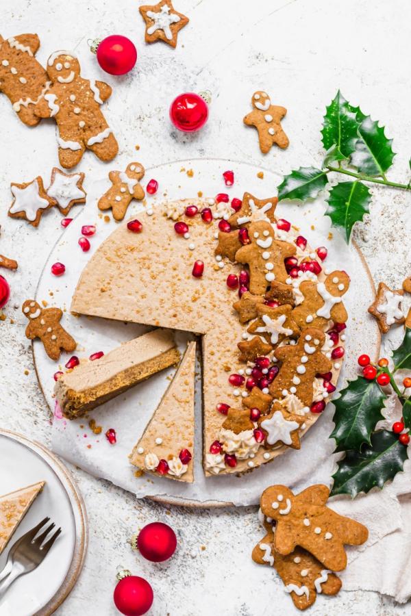 Weihnachtliches Dessert – Weihnachtsbaumstamm und andere köstliche Rezeptideen zum Genießen ingwerkuchen käsekuchen gewürz kuchen