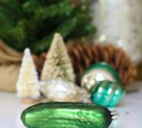 Die Weihnachtsgurke ist ein geheimnisvoller Christbaumschmuck