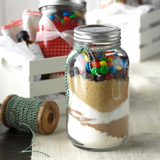 backmischung brownie diy weihnachtsgeschenke