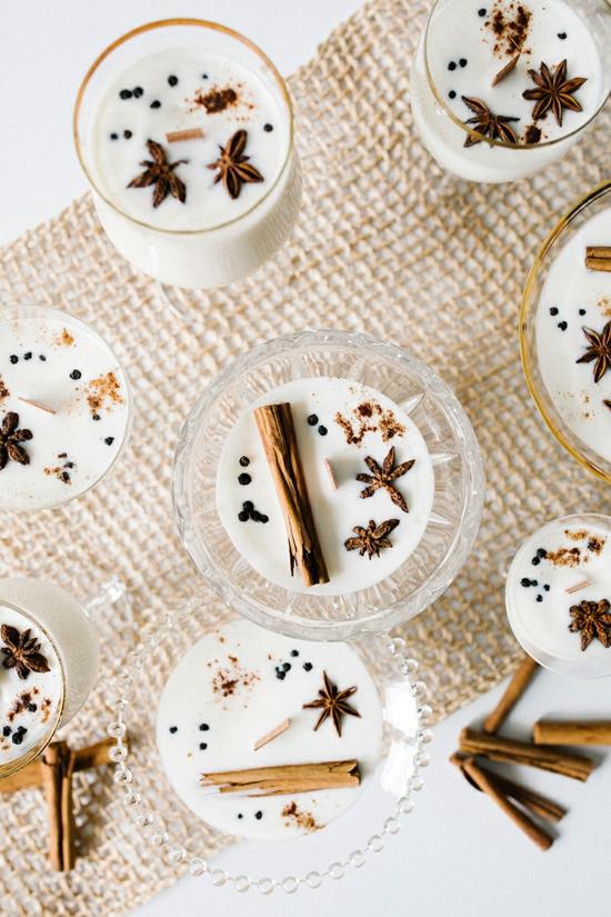 diy weihnachtsgeschenke kerze selber machen weihnachtsgewürze
