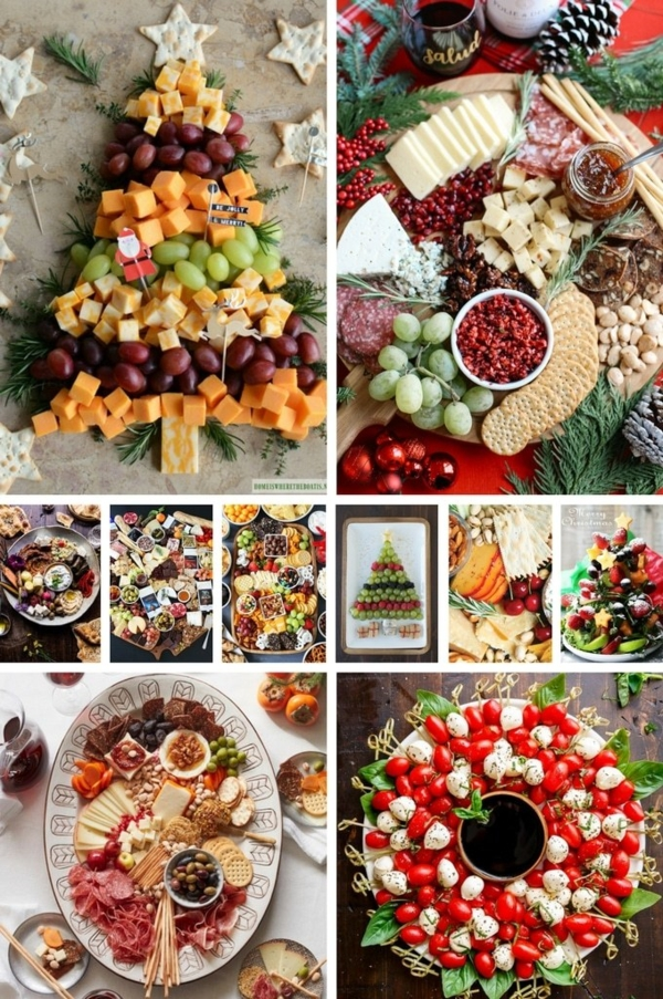 einfache gesunde weihnachtliche vorspeise