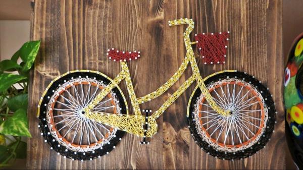 fadenbilder fortgeschrittene fahrrad