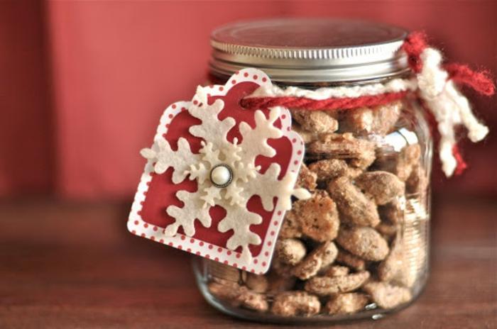 gebrannte Mandeln selber machen wie vom Weihnachtsmarkt würzig WEihnachtsgeschenk