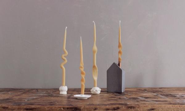 gedrehte Kerzen selber machen DIY Twisted Candles Anleitung
