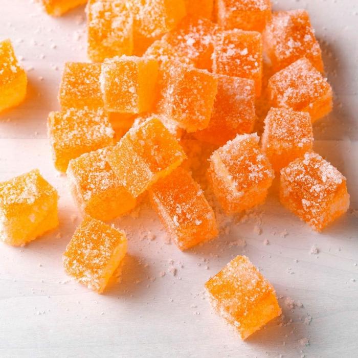 gummibärchen selber machen mit orangensaft