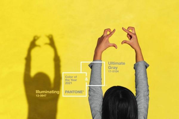 illuminating yellow pantone farbe des jahres 2021