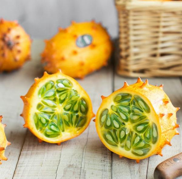 kiwano tropische frucht gesund