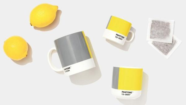 pantone farbe des jahres 2021 illuminating yellow und ultimative gray