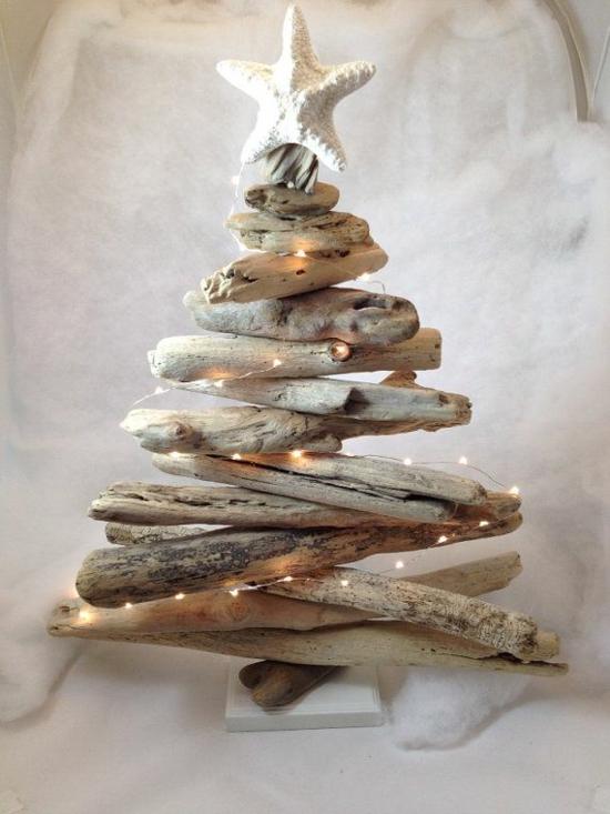 puristische weihnachtsdeko selber machen