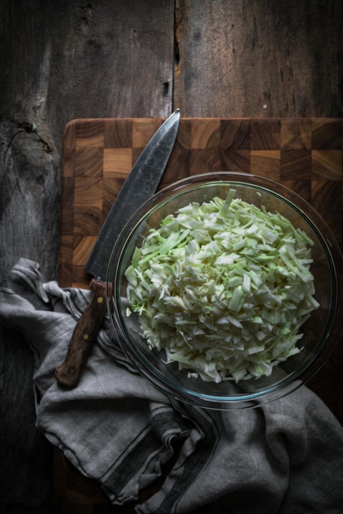 rezepte mit sauerkraut selbst machen klein schneiden