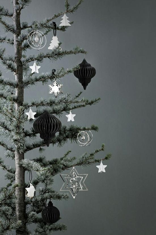 skandinavischer weihnachtsschmuck puristische weihnachtsdeko