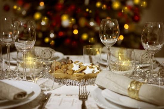 tischdeko weihnachten nüsse plätzchen leinen stoffservietten