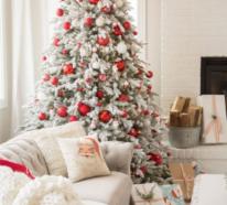 Wie kann man eine traumhafte Weihnachtsdeko im Wohnzimmer gestalten?