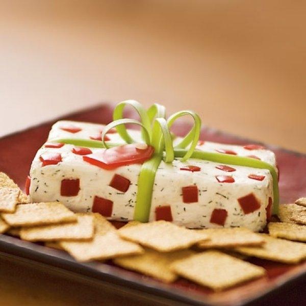 weihnachtliche vorspeise käse gemüse geschenk