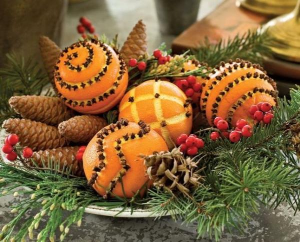 weihnachtsgewürze orangen gewürznelken