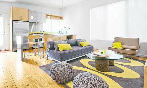 wohnzimmer küche pantone farbe des jahres 2021