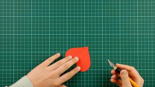 3D Klappkarte basteln zu Valentinstag – coole Ideen und Anleitungen diy karte mit herzen anleitung