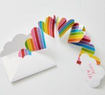 3D Klappkarte basteln zu Valentinstag – coole Ideen und Anleitungen