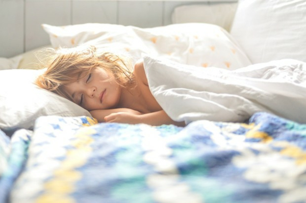 Achtsamkeitsübungen für Kinder Übung vor dem Einschlafen