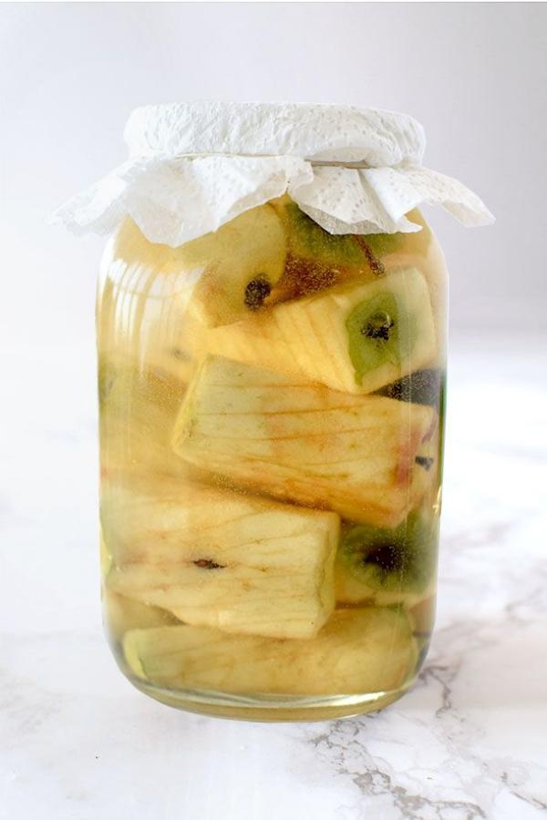 Apfelessig Diät – Wie gesund ist sie wirklich Alle Infos zum Essig Foodtrend hausgemachter essig im glas