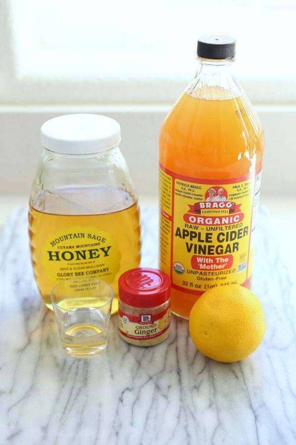 Apfelessig Diät – Wie gesund ist sie wirklich Alle Infos zum Essig Foodtrend honig zitrone essig gesund