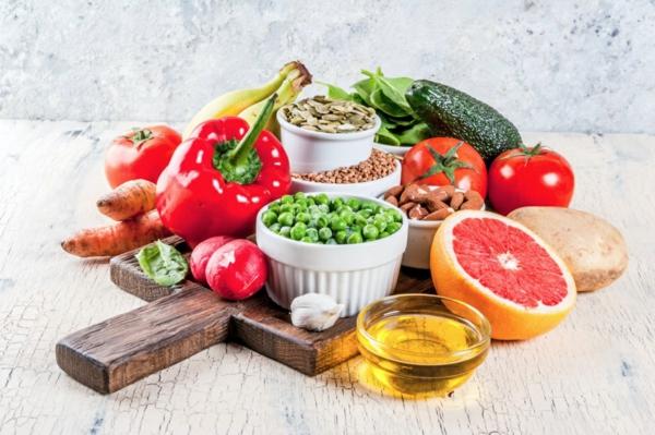 Basische Ernährung Basenfasten alkalische Lebensmittel