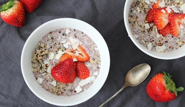 Basische Ernährung Frühstück Chia Basenfasten alkalische Lebensmittel