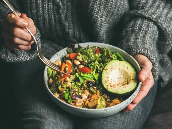 Basische Ernährung Rezepte Salat Basenfasten alkalische Lebensmittel