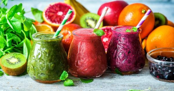 Basische Ernährung Rezepte Smoothies Basenfasten alkalische Lebensmittel