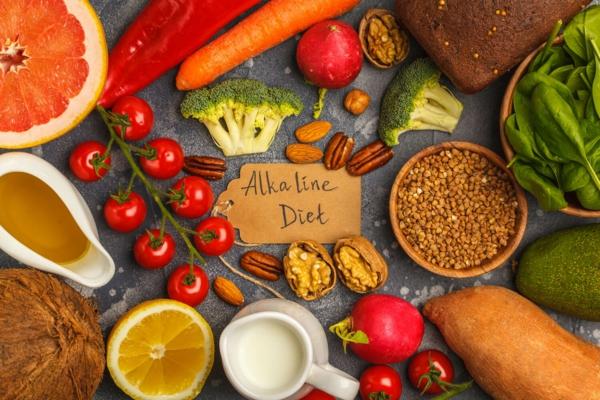 Basische Ernährung Rezepte alkalische Lebensmittel Gemüse