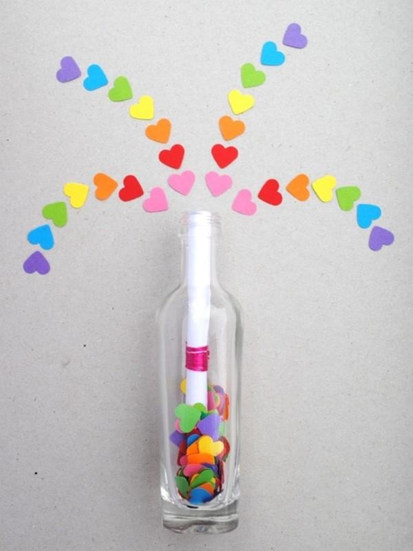 Das perfekte Valentinsgeschenk für ihn wählen oder basteln – Tipps und Ideen geheime nachricht in flasche (Custom)