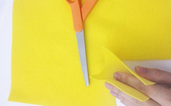 Fingerpuppen basteln Anleitung Bastelideen mit Filz