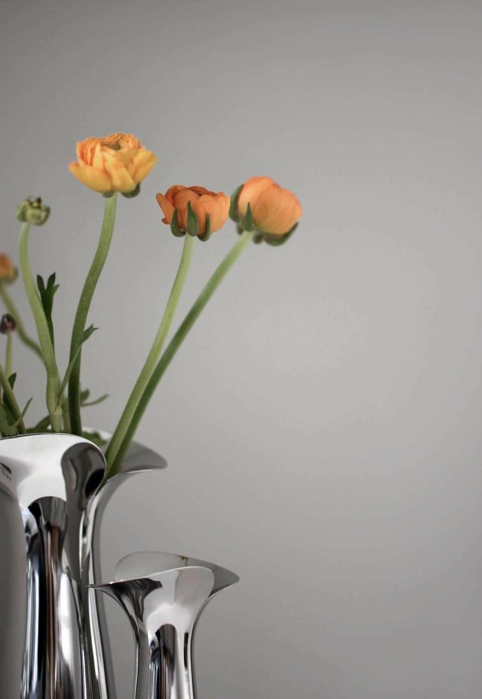 Frühlingsdeko basteln mit Naturmaterialien zarte blüte