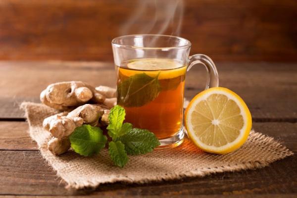 Gesundes Essen in Corona Zeiten Wunderknolle Ingwer Tee gesunde Eigenschaften