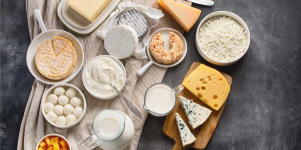 Getränke gegen Corona Milch Joghurt verschiedene Milchprodukte stärken das Immunsystem