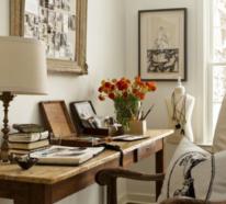 Ein Home Office im Landhausstil ist voller Wärme und Gemütlichkeit