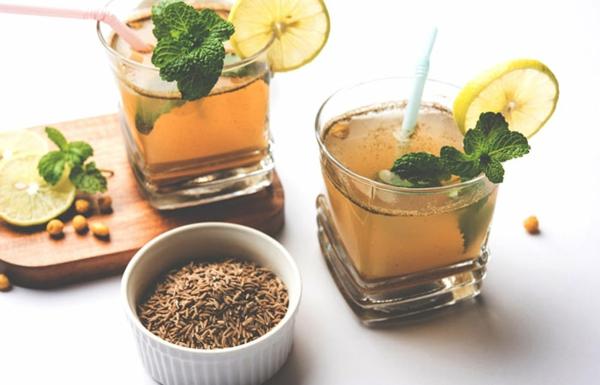 Kreuzkümmeltee Getränke Kreuzkümmelsammen gesundheitliche Vorteile